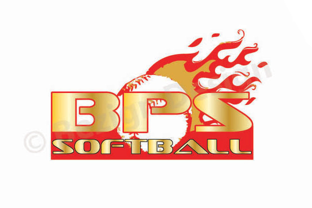 49- BPS Softball - Logo Design