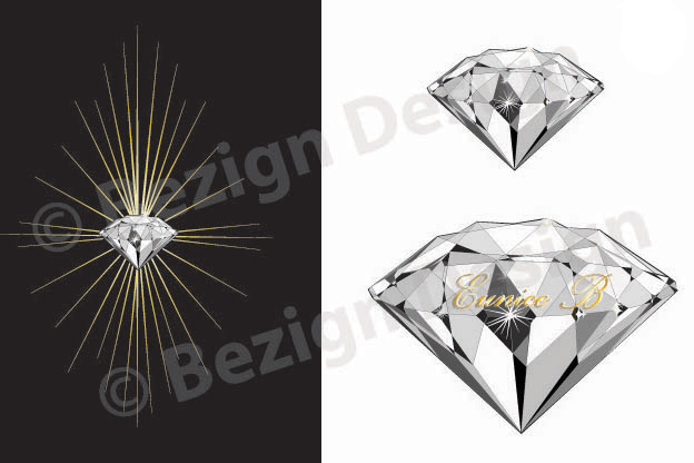 50- Diamonds - Logo Design