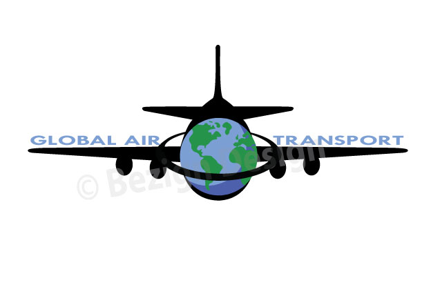 47- Global Air Transport - Logo Design