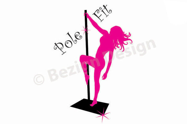 44- Pole Fit - Logo Design