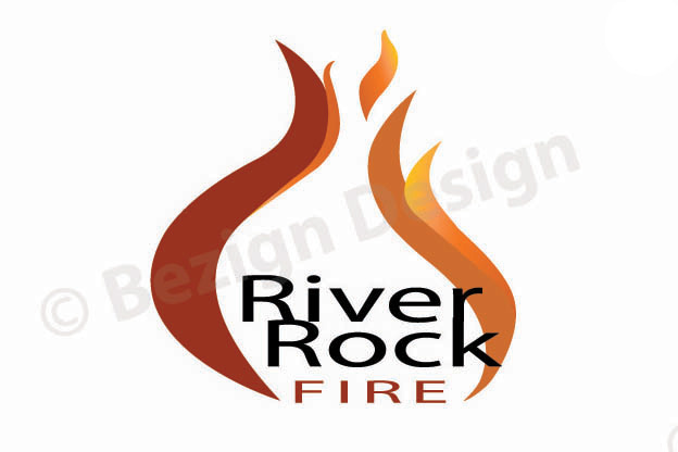 41- River Rock Fire - Logo Design