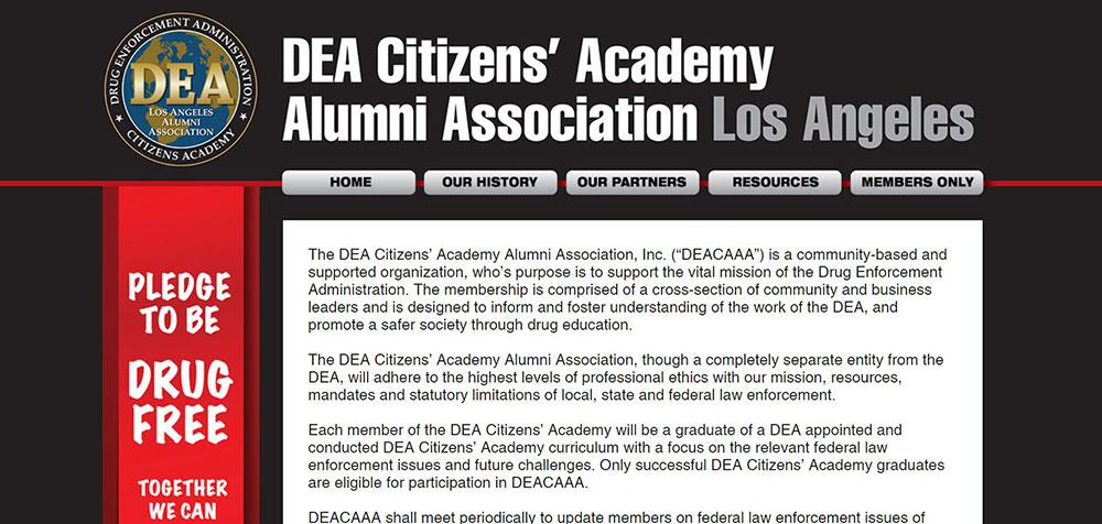 35a- DEA Citizen's Academy
