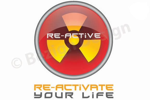 42- Re-Active Fitness - Logo Design