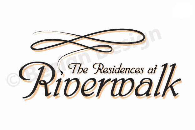 19- The Residences at Riverwalk Towers - Logo Design