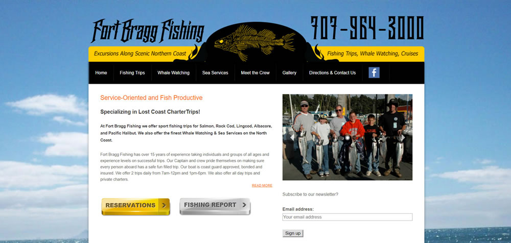 32- Fort Bragg Fishing
