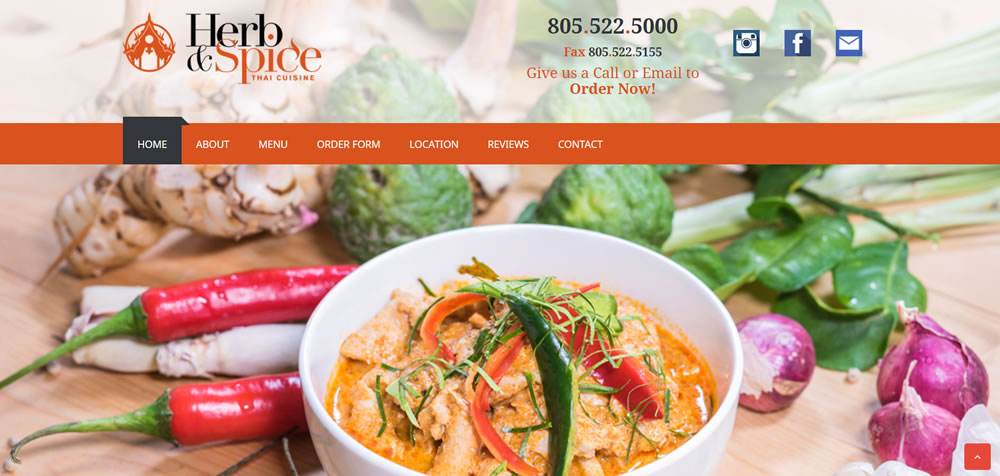 01a- Herb and Spice Thai Cuisine