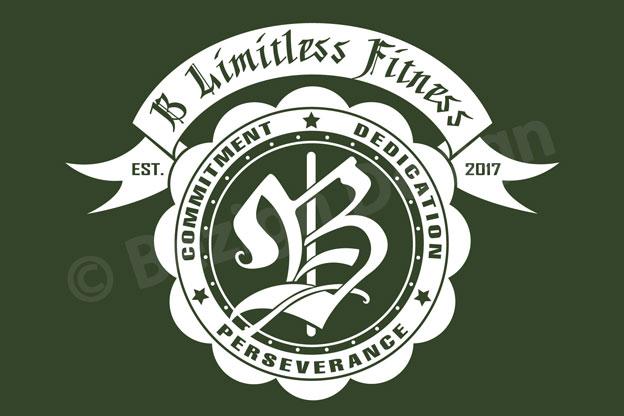 11- B Limitless Fitness - Logo Design