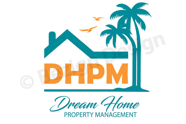 05- Dream Home Property Management - Logo Design