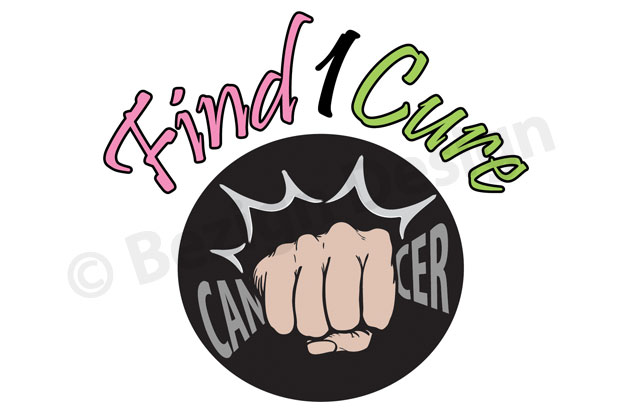 02- Find 1 Cure - Logo Design
