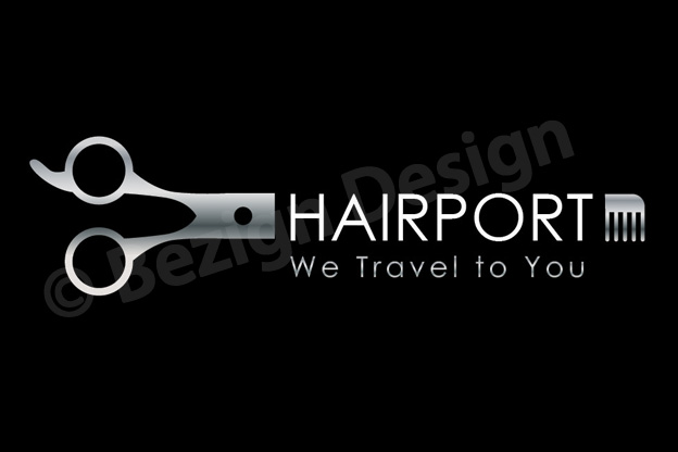 09- Hairport - Logo Design
