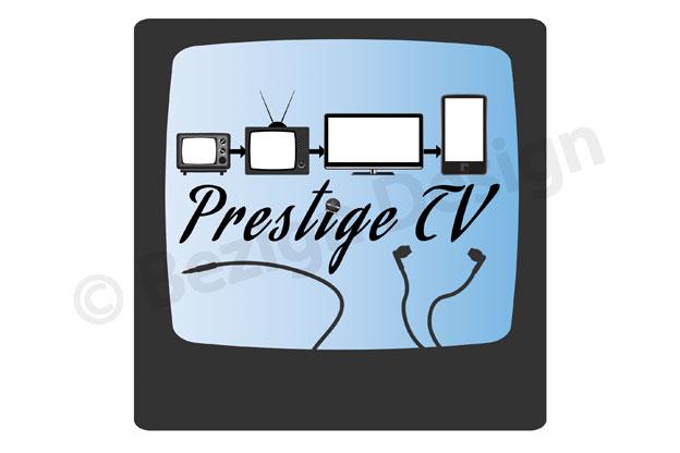 40- Prestige TV - Logo Design