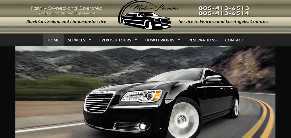 01- Modern Limousine Service